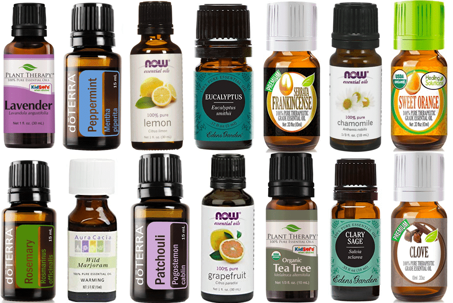 Top Most Popular Essential Oils